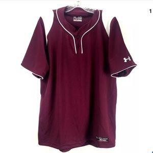 Under Armour Baseball Loose Heatgear Shirt GG20